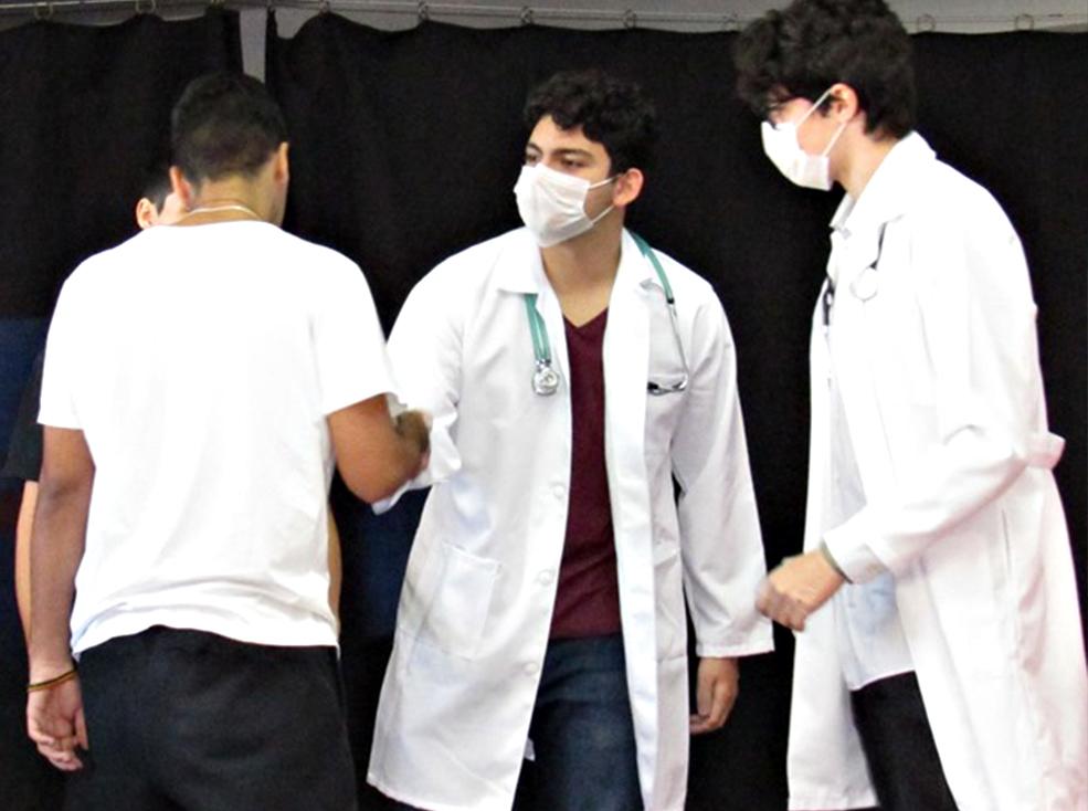 Apresentação  e Prevenção sobre o Corona Vírus - 3º ano do Ensino Médio