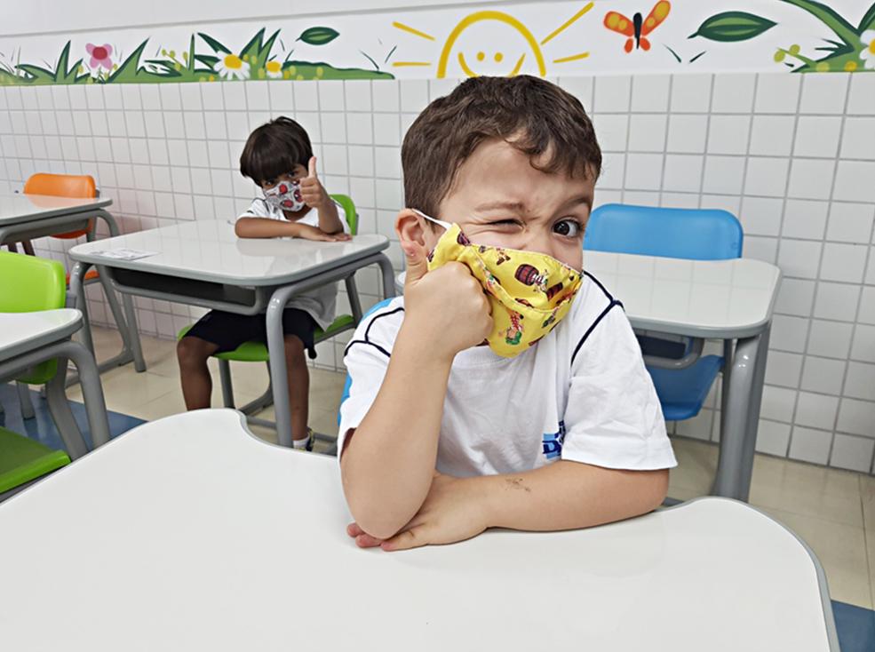 Retorno das aulas presenciais - Unidade Alexandria