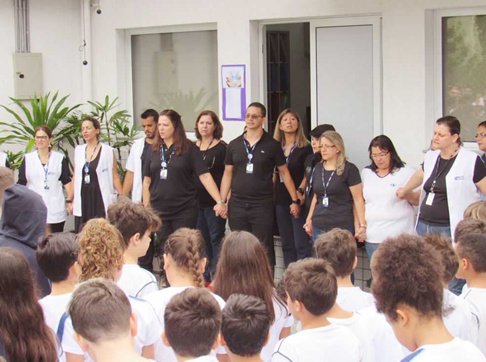 Homenagem - Escola Raul Brasil