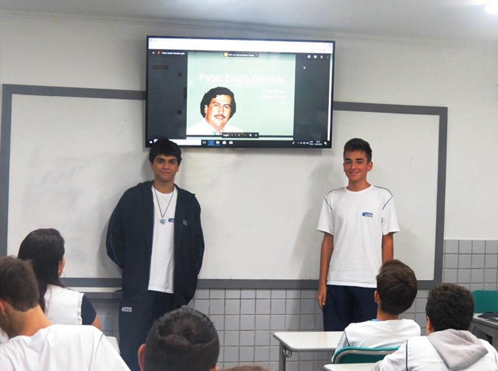 Presentación trabajo de español - Ensino Médio