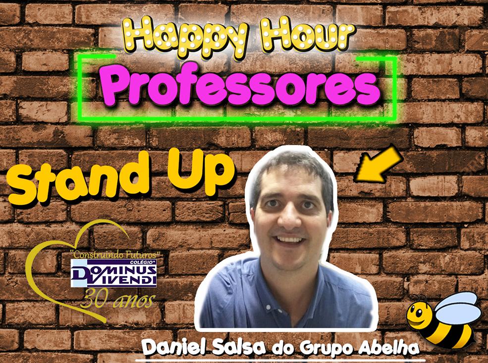 Palestra Stand Up com Daniel Salsa