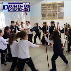 Jogo da Vassoura - 1º ano D - Unidade II